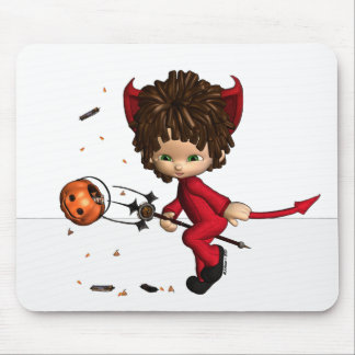 lil' Devil Halloween Mousepad