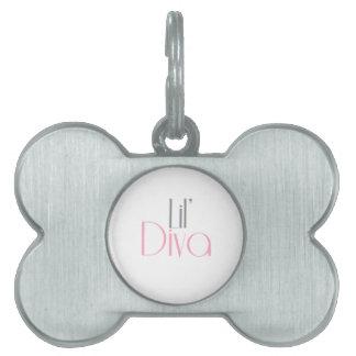 Lil Diva Doggie Tag