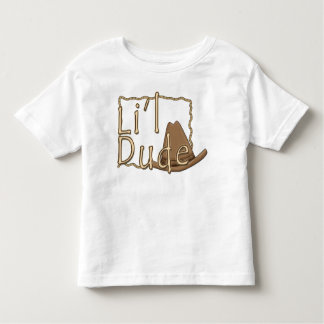 Li'l Dude Little Western Cowboy Toddler T-Shirt