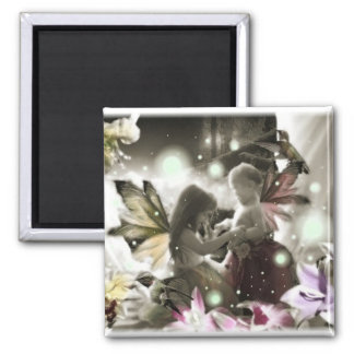 Lil Fairy Sisters Magnet