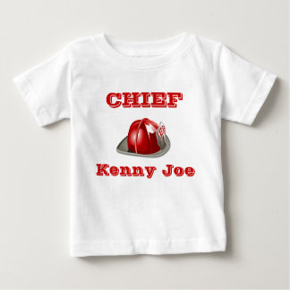 Lil' Fire Chief Baby T-Shirt