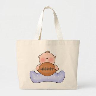 Lil Football Baby Boy Canvas Bag