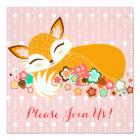 Lil Foxie Cub - Custom Baby Shower Invitations