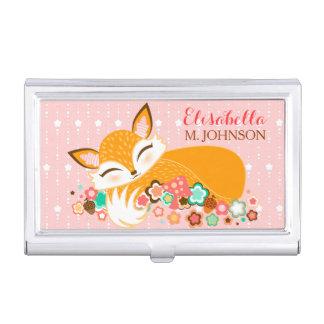 Lil Foxie Cub - Custom Business Card Holder