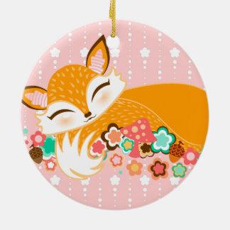 Lil Foxie Cub - Cute Custom Keepsake Ornament