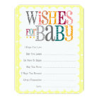 """Lil Foxie Cub - """"Wishes For Baby"""" Card"""