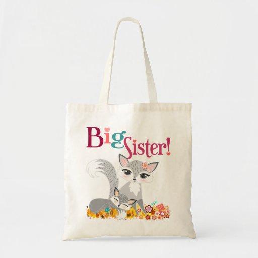 Lil Foxies Big Sister Tote Bag