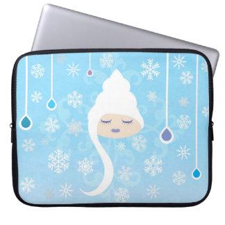 Lil Girlies - Winter Laptop Sleeve