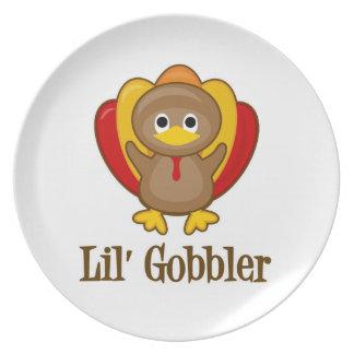 Lil' Gobbler Turkey Plate