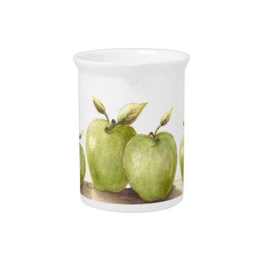 Lil Green Apples Pitcher