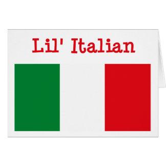 Lil' Italian Greeting Card
