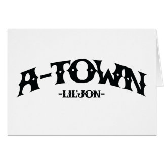 "Lil Jon ""A-Town"" Card"