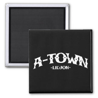 Lil Jon A-Town Fridge Magnets