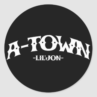 "Lil Jon ""A-Town"" Stickers"