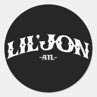 """Lil Jon """"ATL"""" Round Sticker"""