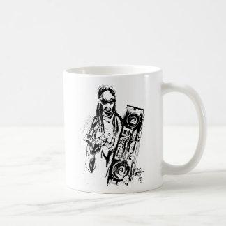 """Lil Jon """"Collaboration by Jim Mahfood and Lil Jon"""" Basic White Mug"""