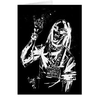 "Lil Jon ""Collaboration by Jim Mahfood and Lil Jon"" Greeting Card"