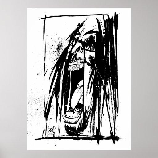 "Lil Jon ""Collaboration by Jim Mahfood and Lil Jon"" Print"