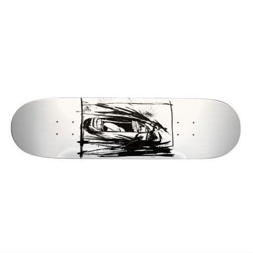 "Lil Jon ""Collaboration by Jim Mahfood and Lil Jon"" Custom Skate Board"