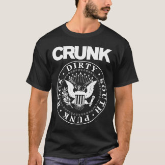 """Lil Jon """"Crunk Ain't Dead"""" Black T-Shirt"""