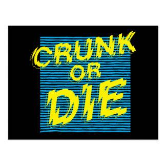 """Lil Jon """"Crunk or Die"""" Postcard"""