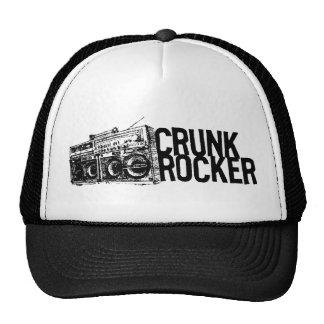 "Lil Jon ""Crunk Rocker Boombox Black White"" Trucker Hat"