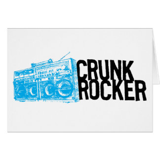 Lil Jon Crunk Rocker Boombox Blue Card