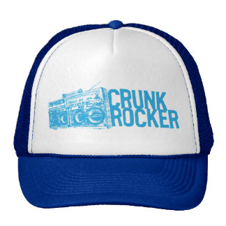 "Lil Jon ""Crunk Rocker Boombox Blue"" Hats"