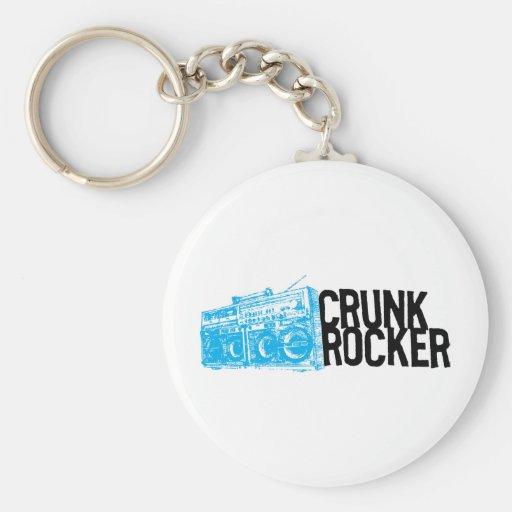 "Lil Jon ""Crunk Rocker Boombox Blue"" Key Chain"