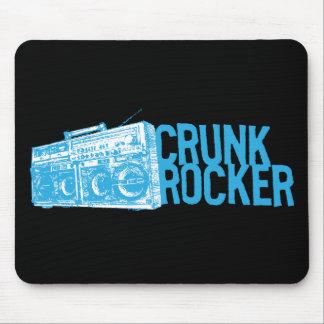 "Lil Jon ""Crunk Rocker Boombox Blue"" Mouse Pad"