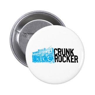 Lil Jon Crunk Rocker Boombox Blue Pins