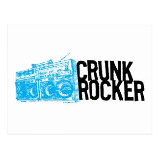 Lil Jon Crunk Rocker Boombox Blue Post Card