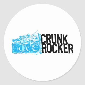 "Lil Jon ""Crunk Rocker Boombox Blue"" Stickers"