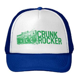 "Lil Jon ""Crunk Rocker Boombox Green"" Trucker Hats"