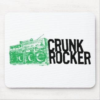 "Lil Jon ""Crunk Rocker Boombox Green"" Mouse Pad"