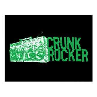 "Lil Jon ""Crunk Rocker Boombox Green"" Postcard"