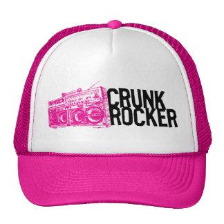 "Lil Jon ""Crunk Rocker Boombox Pink"" Trucker Hats"