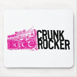 "Lil Jon ""Crunk Rocker Boombox Pink"" Mouse Mat"