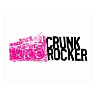 "Lil Jon ""Crunk Rocker Boombox Pink"" Post Card"