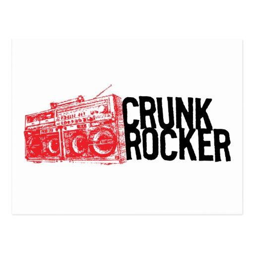 "Lil Jon ""Crunk Rocker Boombox Red"" Post Card"