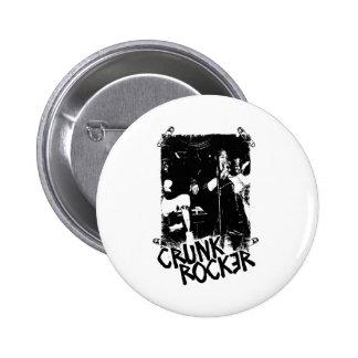 Lil Jon Crunk Rocker Safety Pin Black