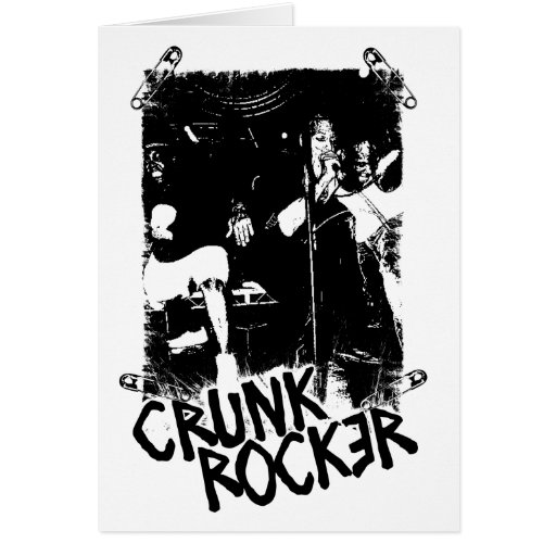 "Lil Jon ""Crunk Rocker Safety Pin Black"" Card"