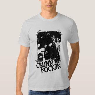 "Lil Jon ""Crunk Rocker Safety Pin Black"" Tshirts"