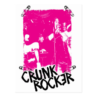 Lil Jon Crunk Rocker Safety Pin Pink Post Cards