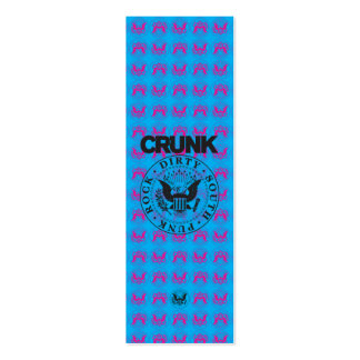 """Lil Jon """"Crunk Seal"""" Pack Of Skinny Business Cards"""