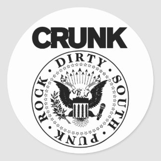 "Lil Jon ""Crunk Seal"" Round Sticker"