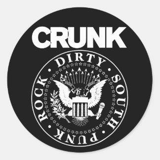 """Lil Jon """"Crunk Seal"""" Round Sticker"""