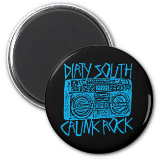 Lil Jon Dirty South Boombox Blue Refrigerator Magnets