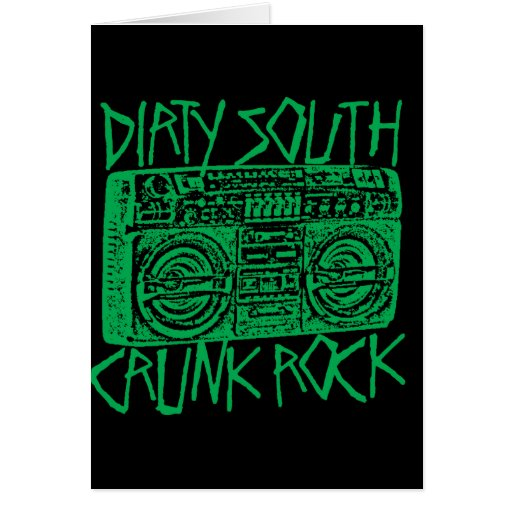 """Lil Jon """"Dirty South Boombox Green"""" Cards"""