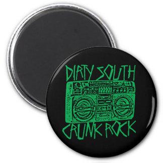 Lil Jon Dirty South Boombox Green Fridge Magnets
